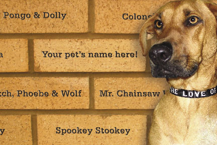 Pet Remembrance Brick